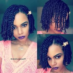 loose two strand twists protective natural hairstyle