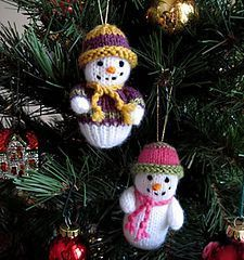 Snowman pattern by Wendy Phillips