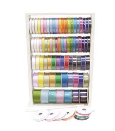 Ribbon Organization, Ribbon Storage, Sewing Room Organization, Craft Room Storage, Craft Rooms, Ladder Storage, Tape Storage, Storage Ideas, Space Crafts