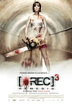 Ready for REC3? Wedding dress + chainsaw = #zombie movie <3! There's something about this movie poster that makes me want to fly to Spain and camp out at one of their cinemas just to be the first to watch this movie.