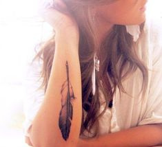 Cute Feather Tattoos - Bing Images