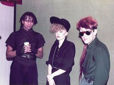 Post punk band interviews/photos: clash - slits - ruts - gang of four - ESN 5 - April 1983 Thompson Twins, Frankie Goes To Hollywood, Echo And The Bunnymen, New Wave Music, Romantic Goth, Experimental Music, Twin Photos, Les Twins, Gothic Rock