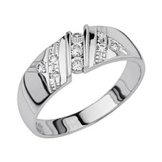 .925 Sterling Silver CZ Ribbed Channel Set Mens Wedding Ring Band - Size 10 The World Jewelry Center,http://www.amazon.com/dp/B007AKEWZ2/ref=cm_sw_r_pi_dp_Cw87sb084YP857XP