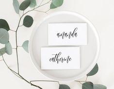 Wedding Place Cards Printable Wedding Place Cards Wedding