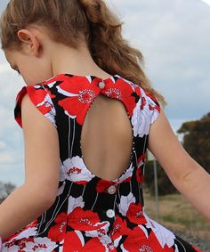 Juliette's Dress sewing pattern for girls by Lily Bird Studio   The best sewing patterns for women, girls, toys and more. Go To Patterns & Co.