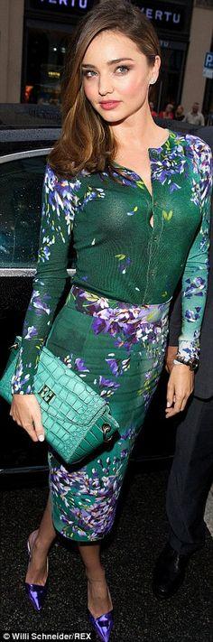 Australian supermodel Miranda Kerr