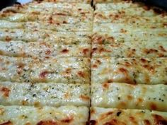 Cheesy garlic bread to die for!
