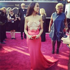 Kerry washington has been on a sartorial roll lately The Oscars Get Social: See All the Instagram Snaps Here