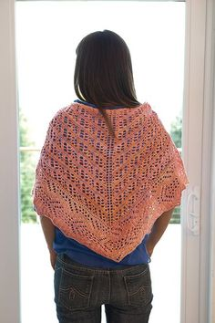 Arabesque Shawl Pattern - Knitting Patterns and Crochet Patterns from KnitPicks.com by Michelle Miller