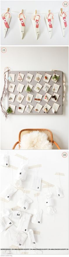 Advent Calendar Roundup - 19 GreatIdeas - Home - Creature Comforts - daily inspiration, style, diy projects + freebies