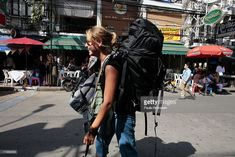 Image result for backpacker in the city
