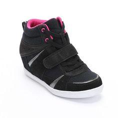 Mudd Wedge Sneakers - Girls