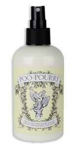 Poo-Pourri.  Perfect gift for teachers or ANYONE going to work in an office that doesn't want their business smelled by all!!  It works...I have a restroom in my classroom and I JUST USED IT ;) tmi??  oh well