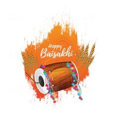 Baisakhi Images, Baisakhi Festival, Happy Baisakhi, Png Photo, Social Media Banner, Indian Festivals, Wish, Crafts For Kids, Graphic Design