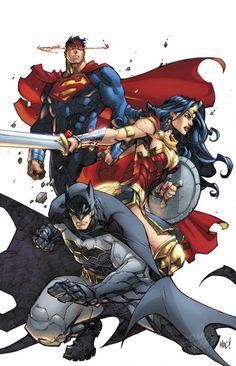Justice League Rebirth #1 by Joe Madureira More