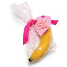 "Valentine's Day doesn't have to be hard for someone who's avoiding sweets! Some great ideas would be a banana that says ""I go bananas over you,"" an orange that says ""Orange you glad you're my Valentine,"" or some berries with a note that says ""You're berry special!"" This would also be sweet to add in your kid's lunch!"