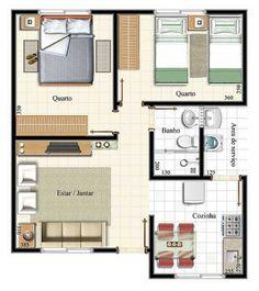 plantas baixas de apartamentos 95m2 - Pesquisa Google