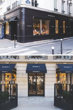 2 Hip Facade Mock-Ups. Test your design on the real shop facades with these two beautiful photography based mock-ups in high resolution. Restaurant Facade, Cafe Restaurant, Restaurant Design, R Cafe, Cafe Shop, Facade Design, Exterior Design, Retro Shop, Decoration Restaurant