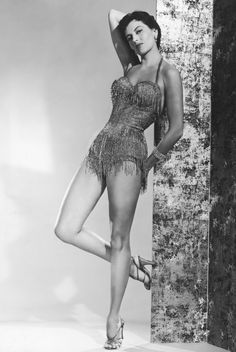 """Cyd Charisse. Fred Astaire called her """"Beautiful Dynamite"""""""