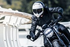 Riding Gear - Husqvarna Pilen Helmet | Return of the Cafe Racers