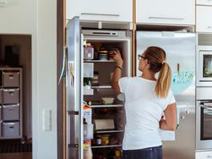 How I Keep My Fridge Front Clutter-Free