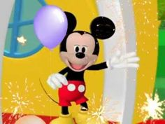 Mickey and his clubhouse friends do the hot dog dance to a fun instrumental birthday song to celebrate your special day!