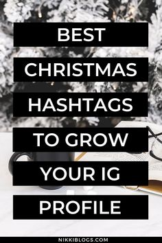 Get the best Christmas hashtags for Instagram with this list of 35 top tags. Use them on your favourite social media platform to grow your account this holiday season - perfect for all lifestyle niches, you'll find cute hashtags for family, food, home decor, and more! Click here to copy and paste these right to Instagram. #instagram #hashtags #christmashashtags #christmas #instagramhashtags