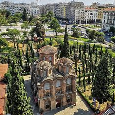 """Thessaloniki Travel on Instagram: """"Walking Egnatia str. you soon realise that every corner of #Thessaloniki 's most historic avenue has a story to tell. Panagia Halkeon is…"""" Thessaloniki, Big Ben, Greece, Monuments, Building, Instagram, Walking, Corner, Travel"""