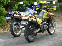 Lowered DR650's