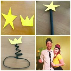Homemade Cosmo and Wanda Costume Tutorial- Fairly Odd Parents Costumes- cute couples costume- easy and cute Halloween costume #halloweencosumeideas