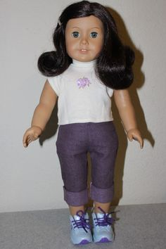 2008 -18 Inch American Girl Doll with Dark Brown Hair & Blue EyesPre owned - Very clean and in very good almost like new condition (No Scratches, Tear... #brown #hair #blue #eyes #dark #with #american #girl #doll #inch