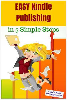 EASY Kindle Publishing in 5 Simple Steps - think Kindle publishing is too complicated? Here's how to make it easy. Writing Help, Writing A Book, Kindle, Make Money On Amazon, Sell Your Books, Self Publishing, Screenwriting, Book Authors, Writing Inspiration