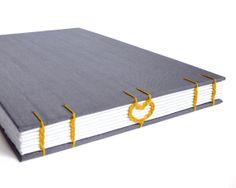 Wedding guestbook, artist sketchbook, sketchbook journal,  love notebook, custom sketchbook, opens flat, hand bound heart guestbook