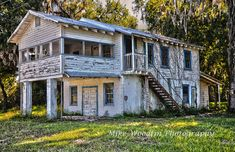 Vintage Old General Store along Florida State Road 19 Antique History Photo Photograph DIGITAL download Poster HDR Country Art Fine Art Wall