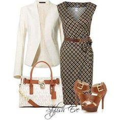 Vestido y chaqueta