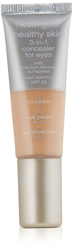 Neutrogena 3-in-1 Concealer For Eyes, SPF 20, Light 10, 0.37 Ounce -- Be sure to check out this awesome product. (This is an Amazon affiliate link)