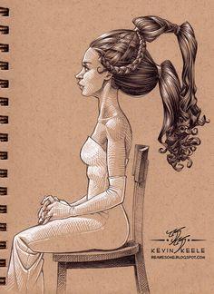 Be Awesome: Sketchbook September '13 by Kevin Keele