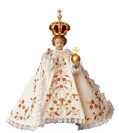 The statue of the Infant Jesus of Prague in the church of Our Lady Victorious in Mala Strana receives visitors from all over the world every day. Its value is not derived from its exceptional artistic merit, but from its spiritual beauty and impact. http://www.pilgrim-info.com/europe/czech-republik/infant-jesus-of-prague/