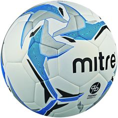 Mitre Ultimatch Hyperseam Football Unisex Water Resistant Textured Colourful