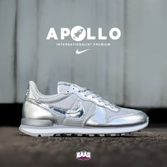 "Yesterday the release of the Nike Wmns Internationalist Premium ""Apollo"", Last sizes still available! Check out this Internationalist: http://bit.ly/silverbaas #Sneakerbaas #Baasbovenbaas #nike #internationalist #Apollo"