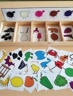 Cognitive Activities, Pre K Activities, Toddler Learning Activities, Montessori Activities, Summer Activities For Kids, Color Activities, Infant Activities, Crafts For Kids, Indoor Games For Toddlers