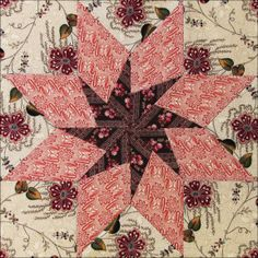 Civil War Quilts: Threads of Memory 5: Madison Star for Delia Webster free quilt block pattern. Delia Webster....what a character.