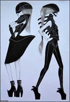 Alien fashion by ~Verenique on deviantART