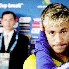 And he's generally working with a pretty adorable face. | For Everyone That's Obsessed With The Brazilian Perfection That Is Neymar