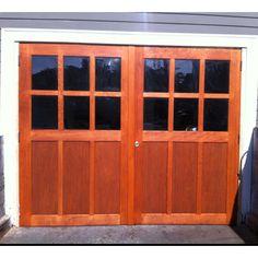 My new garage doors