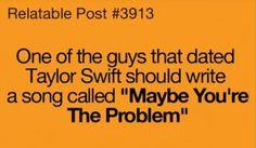 I'm sayin!  Get a therapist annoying girl!