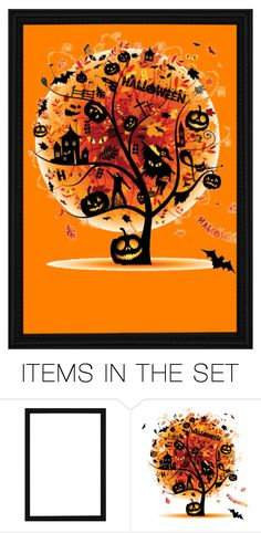 """""""HALLOWEEN"""" by poycoy on Polyvore featuring art"""