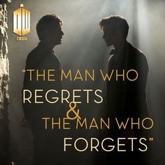 the man who regrets & the man who forgets