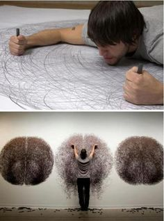 Tony Orrico - This man is crazy ! check out his work..  www.welldonestuff.com
