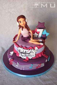 doces projectos MU: Bolo Madalena #Violetta Novembro 2014